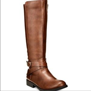Style & Co Madixe Wide Calf Tall Boots